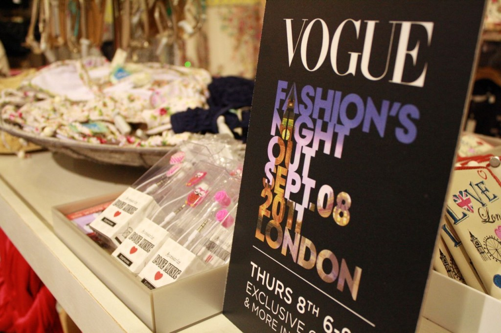 Vogue's Fashion Night Out Accessorize