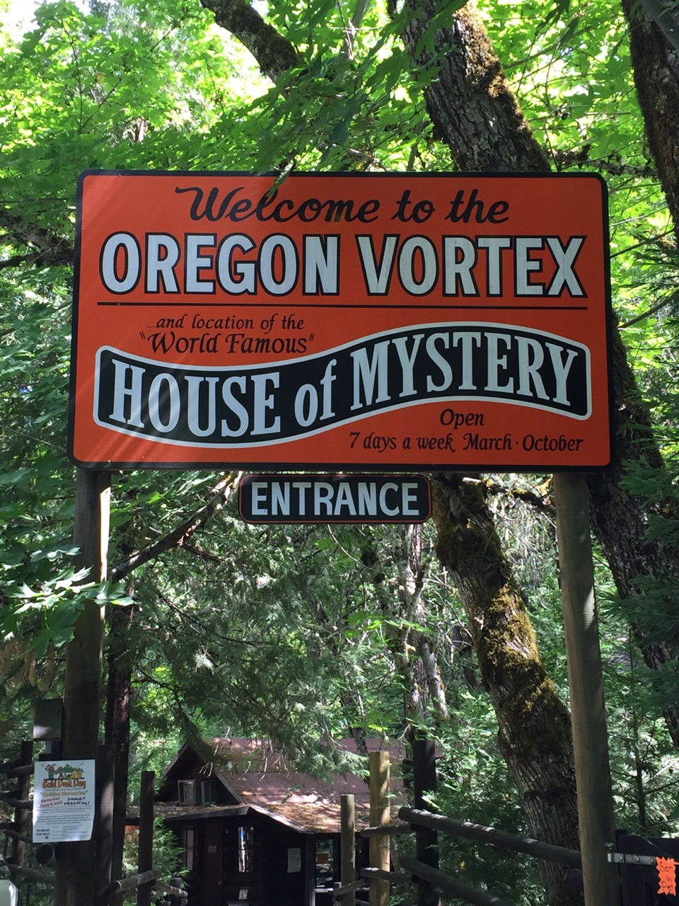Oregon Vortex House of Mystery